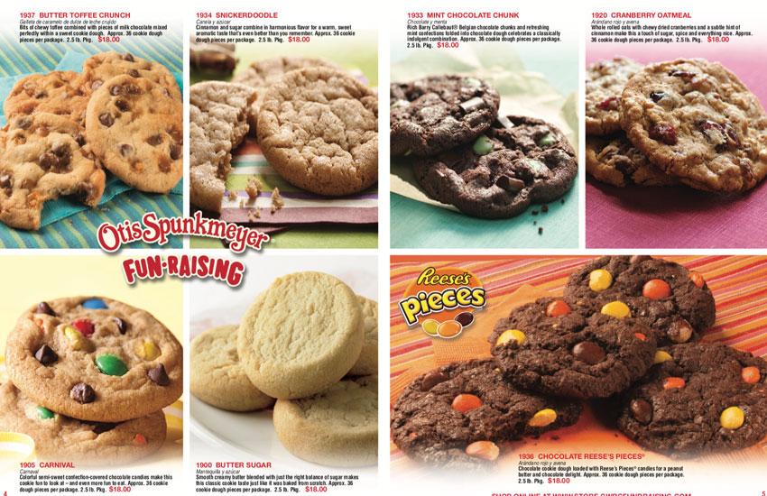 Otis Spunkmeyer Fundraising Program Frozen Cookie Dough Fundraiser